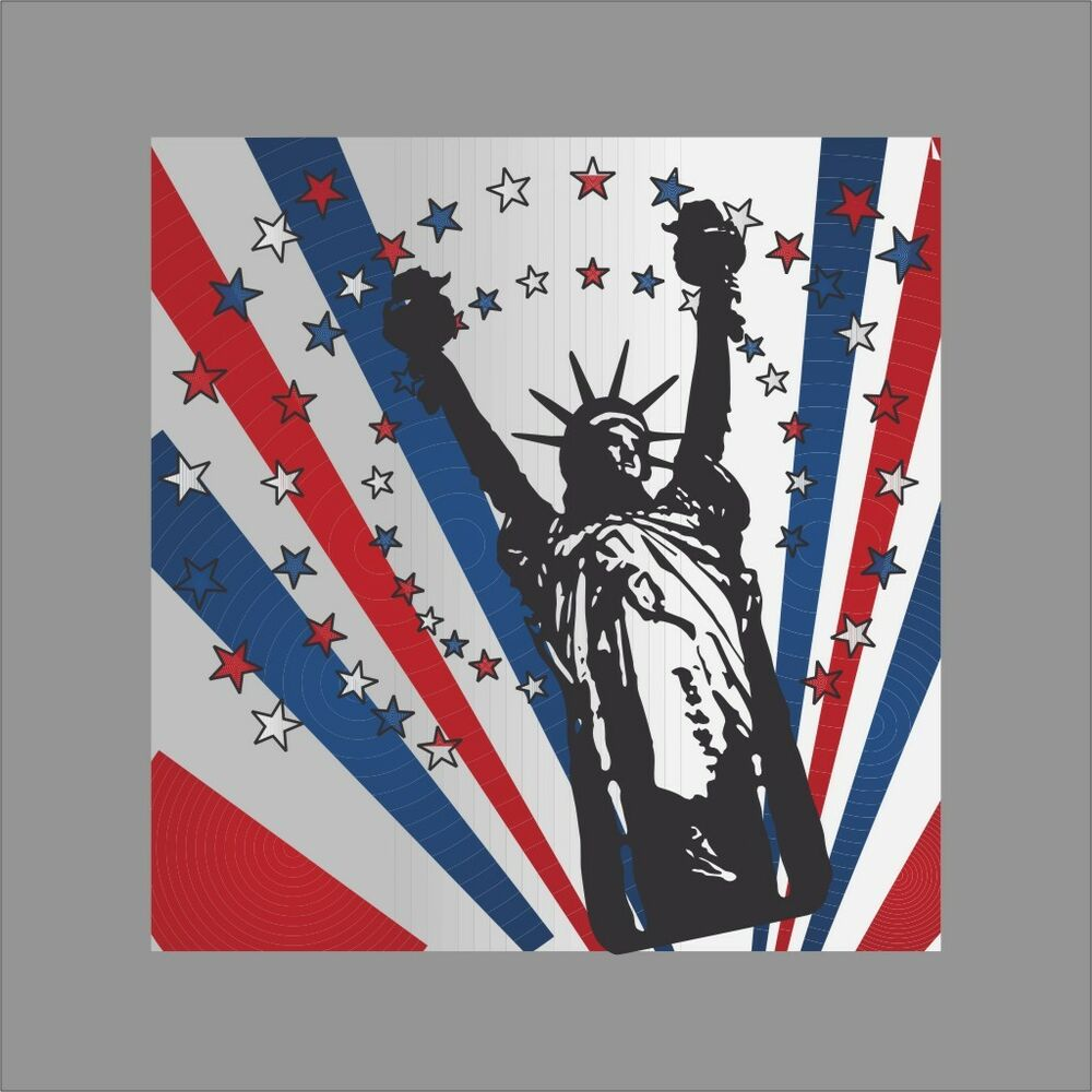 Vinyl Window Decals : Liberty patriotic wall car window vinyl decal sticker