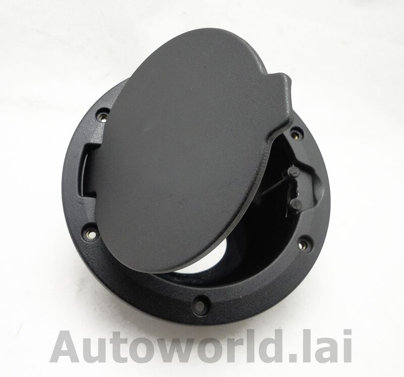 Jeep Wrangler Rear Corner Guards ... Black Gas Cap Fuel Cover Door For Jeep Wrangler JK 2007-2013 | eBay