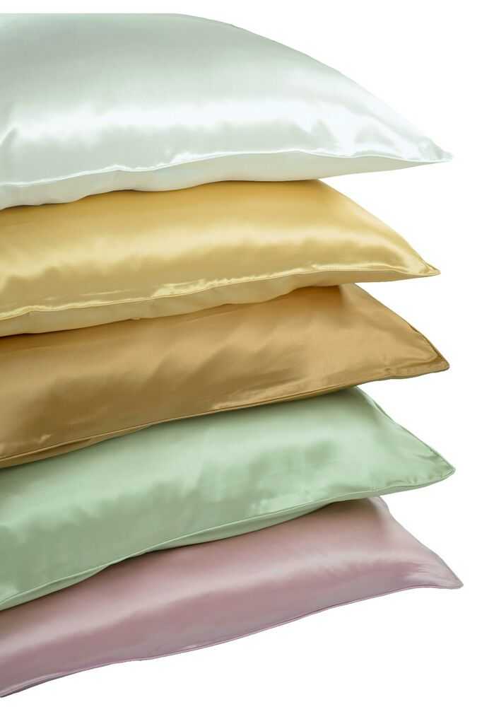 Empress Silk Pure Mulberry Silk Charmeuse Pillowcase 19