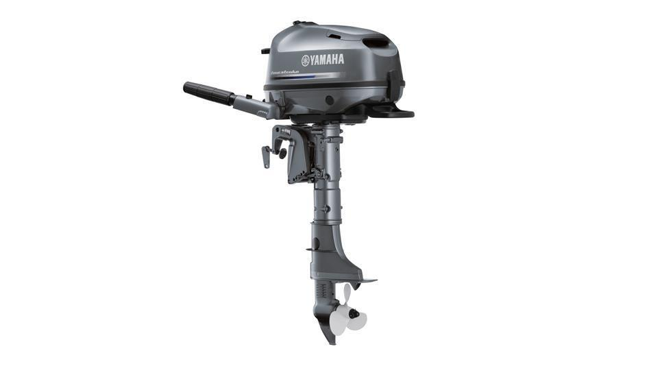 New yamaha f 4 bmhl blue hp four stroke outboard motor for New outboard boat motors
