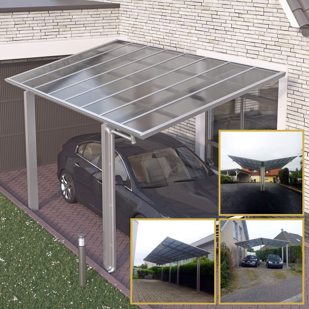 doppelcarport bausatz aluminium edelstahl carport. Black Bedroom Furniture Sets. Home Design Ideas