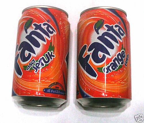 fanta can from indonesia 330ml orange jeruk coca cola 2009 collect asia ebay. Black Bedroom Furniture Sets. Home Design Ideas