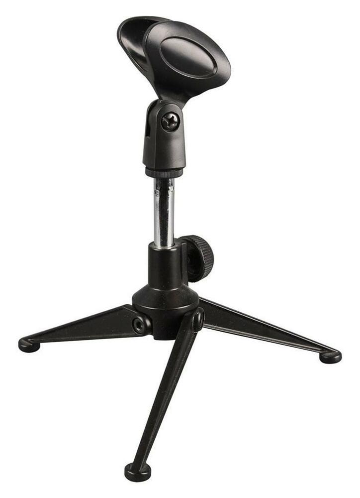 adjustable metal desktop microphone holder stand fits shure sm58 sm57 beta58 ebay. Black Bedroom Furniture Sets. Home Design Ideas
