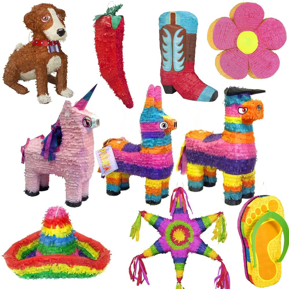 assorted pinata 39 s party game choose your pinata 47. Black Bedroom Furniture Sets. Home Design Ideas
