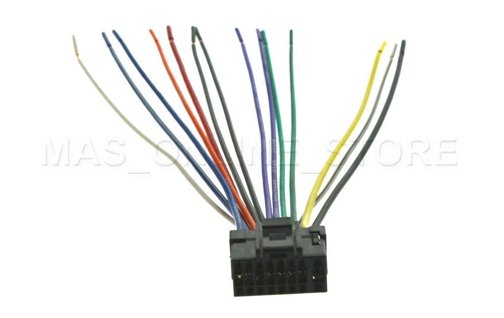 s l1000 car audio and video wire harness for alpine ebay alpine cde 102 wiring harness at fashall.co