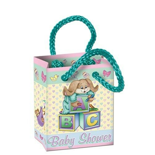 baby shower cuddle time mini gift bags 4 per pack ebay