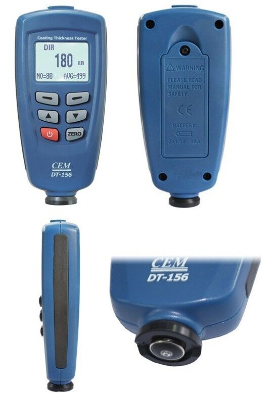 Cem Dt 156 Professional Paint Coating Thickness Tester