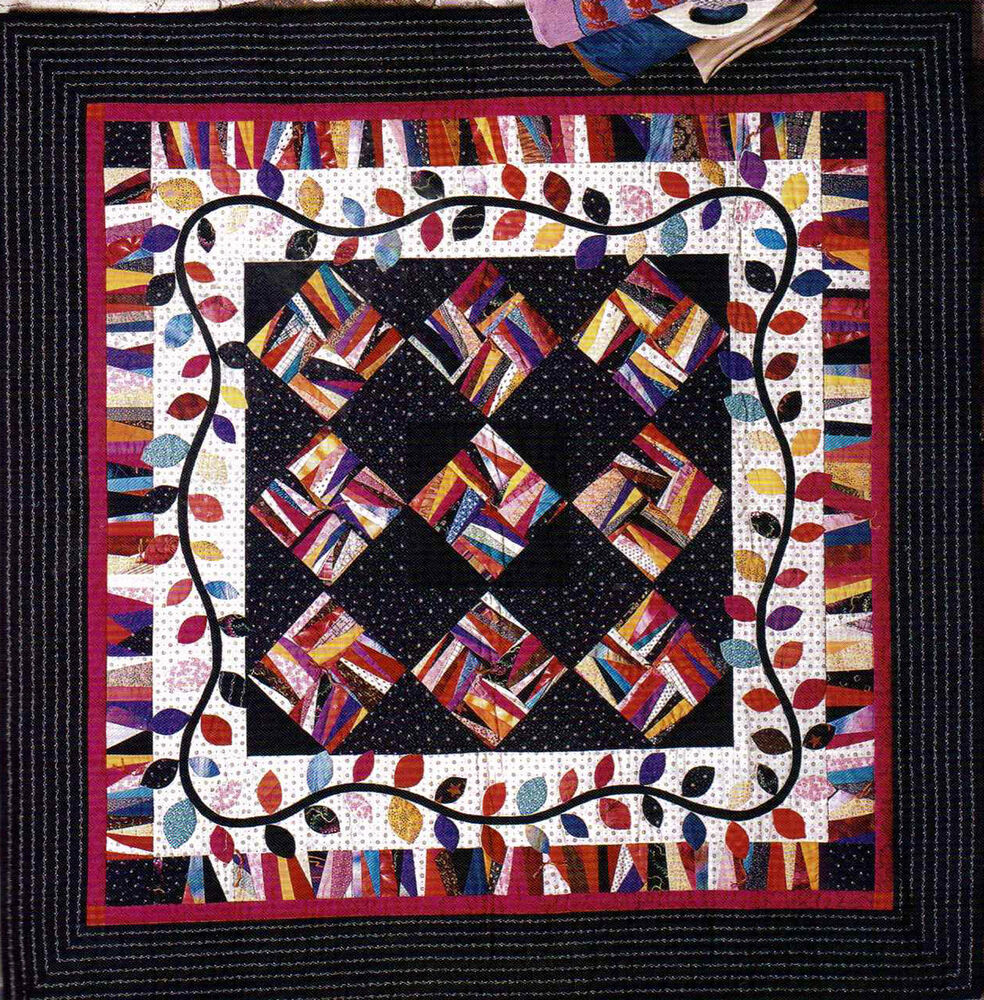 Colorful christmas casual comfy patchwork quilts project for Patchwork quilt book