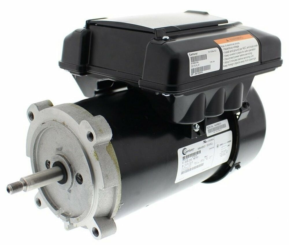 Variable speed ecm pool motor 1 2hp 2 spd 56j 208 230v for Hayward sp2610x15 replacement motor