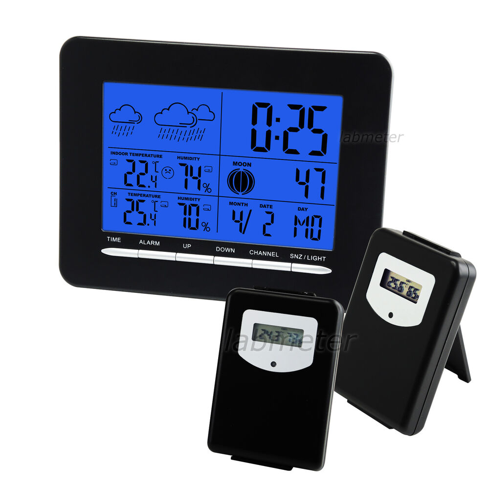 Digital Weather Station : Digital wireless weather station thermometer humidity