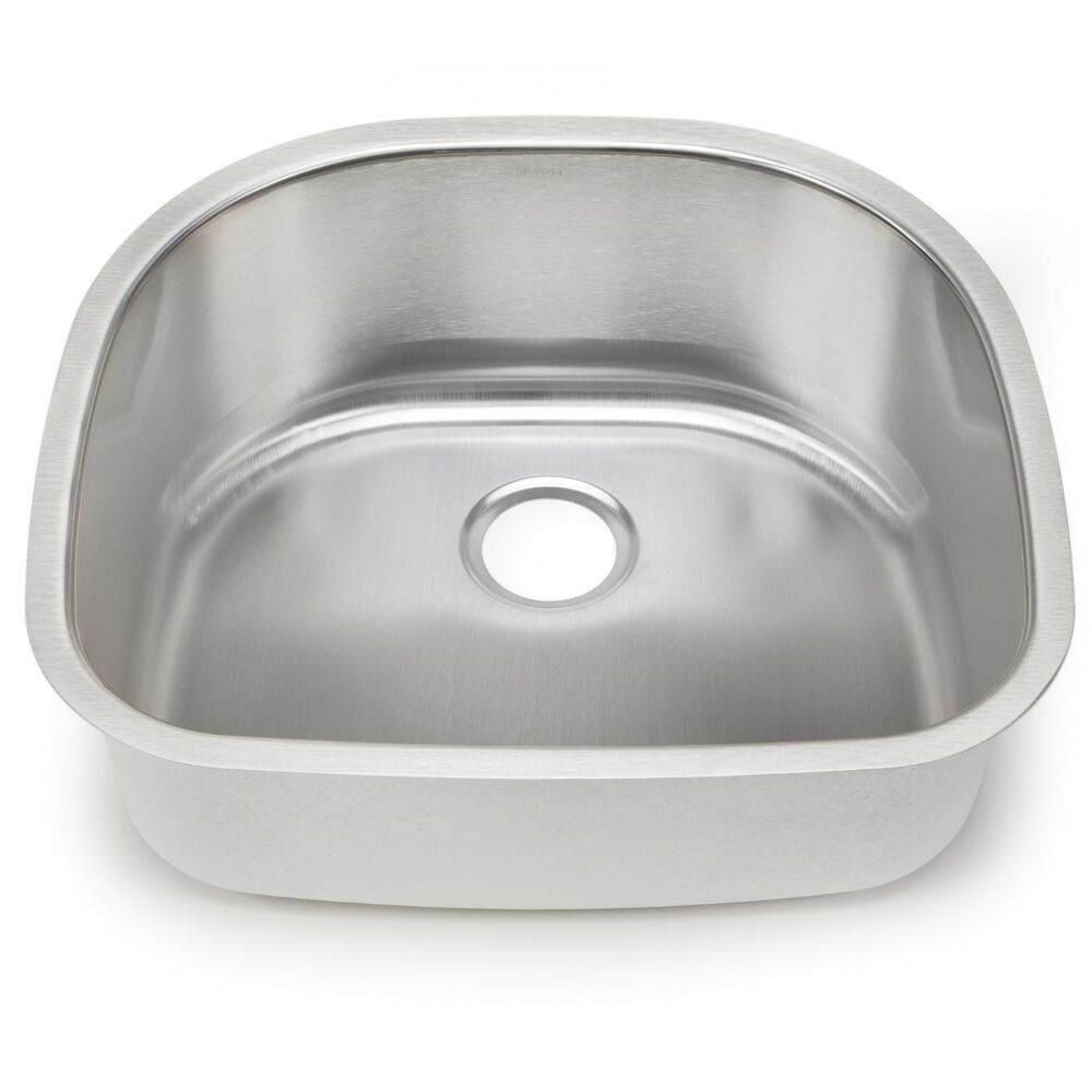 Blanco Single Sink : BLANCO STELLAR 441530 Stainless Steel Single