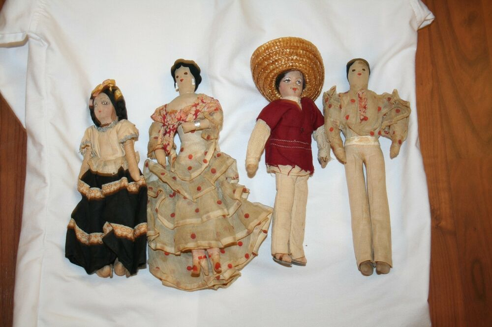 Are vintage mexican doll are not