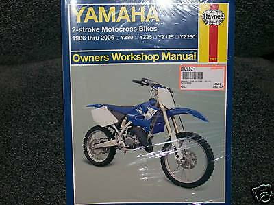 yamaha yz80 yz85 yz125 yz250 service repair shop manual. Black Bedroom Furniture Sets. Home Design Ideas