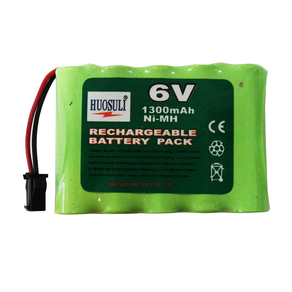 1 pc 5 aa 1300mah 6v ni mh rechargeable battery pack rc new super power ebay. Black Bedroom Furniture Sets. Home Design Ideas