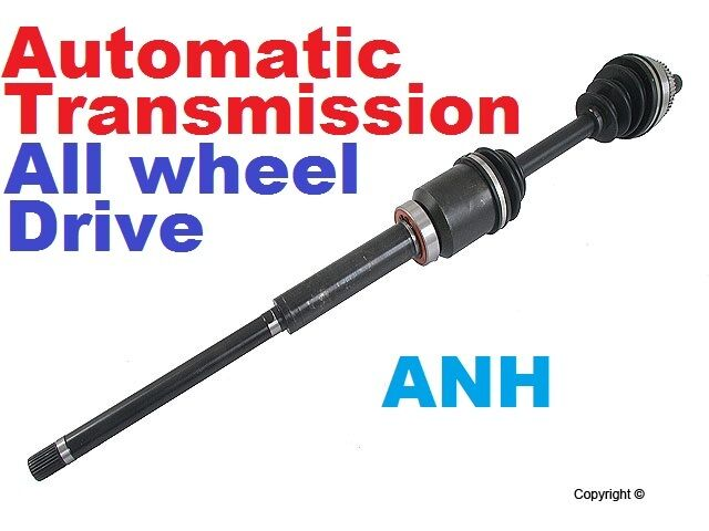 3 All Wheel Drive Axle : New front right cv axle for models with all wheel drive