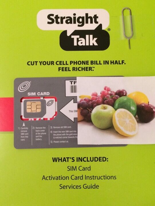 straight talk iphone sim card talk micro sim card amp activation kit at amp t 5311