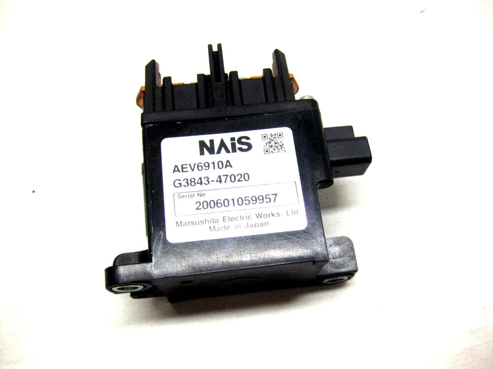 2006 Toyota Prius Hybrid Battery Main Relay G3843 47020 04