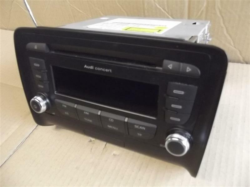 audi tt s rs 8j mittelkonsole radio blaupunkt concert 8j0035186m ebay. Black Bedroom Furniture Sets. Home Design Ideas