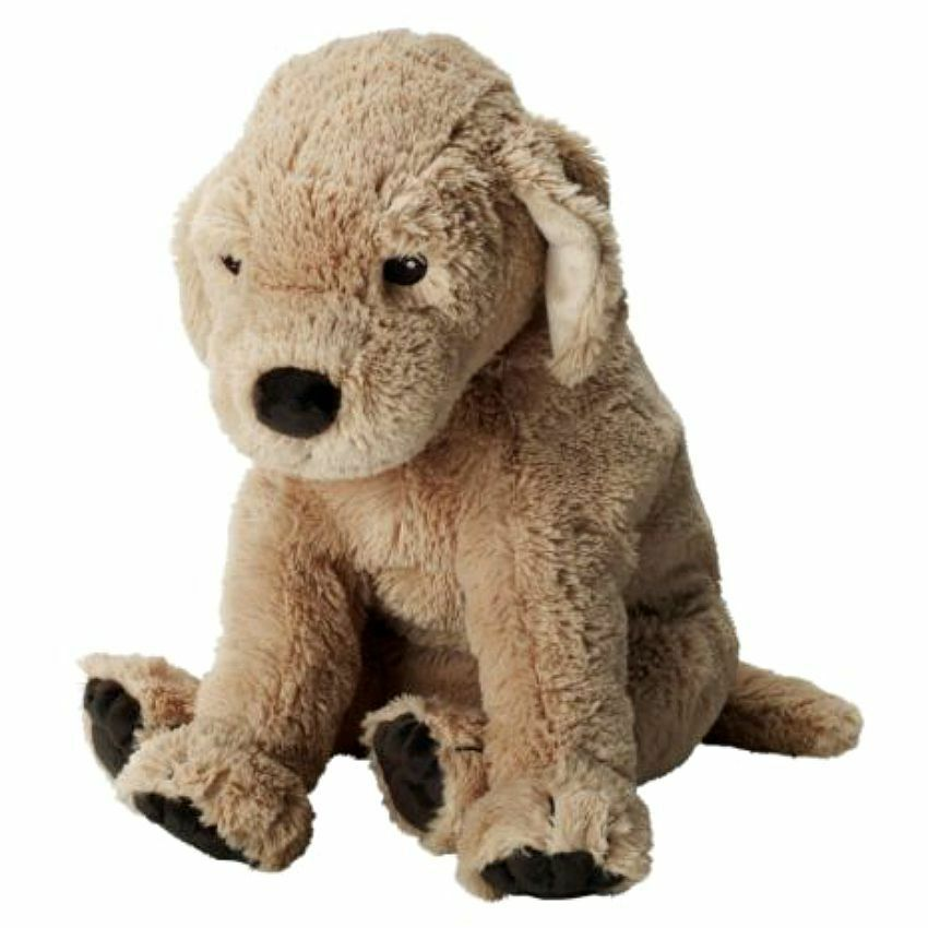 Brand new IKEA GOSIG GOLDEN Retriever Dog Kids Soft Stuffed Animal Plush Toy  eBay