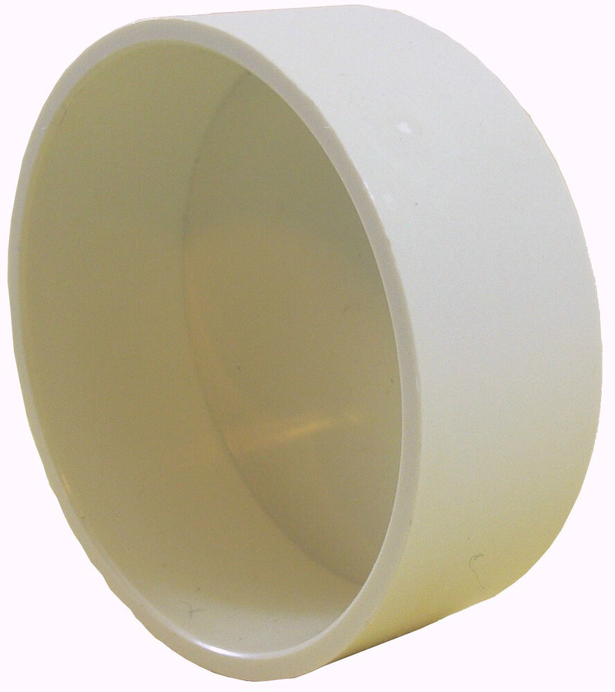 Central vacuum pvc cap fitting for inch pipe ebay