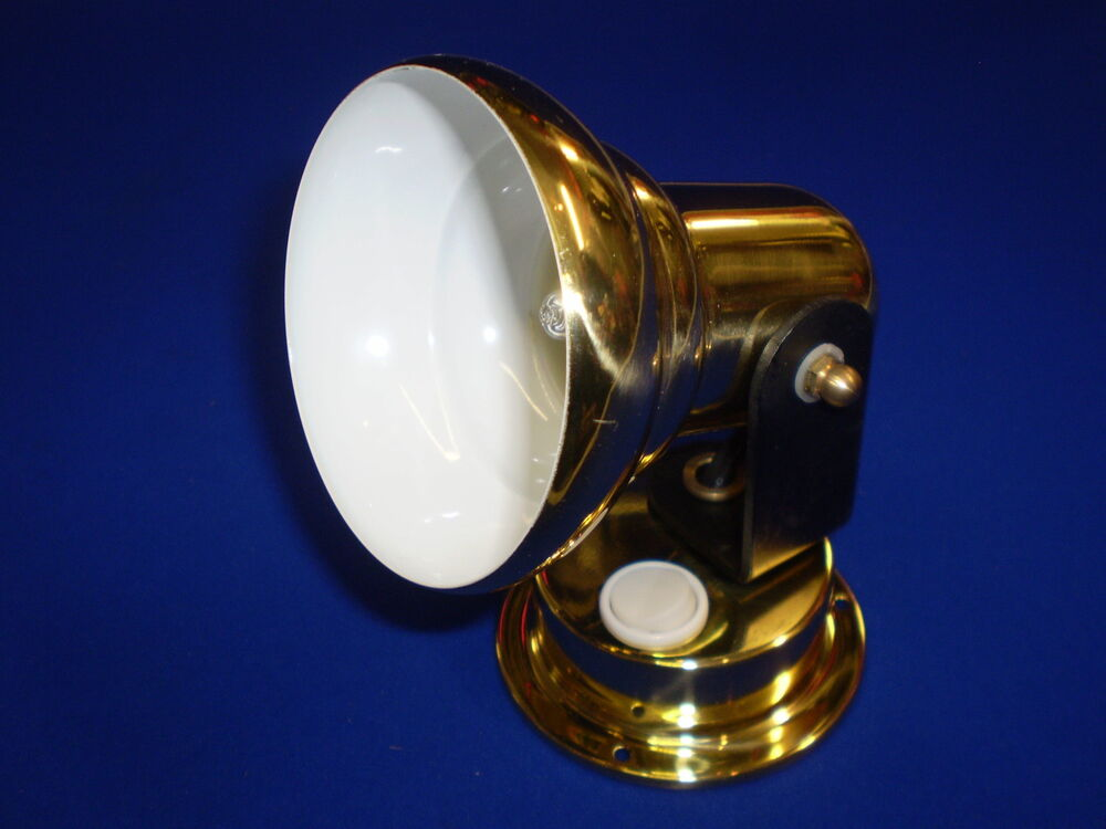 Boat wall spot light reading lamp 12v down light ebay for 12v table lamps for boats