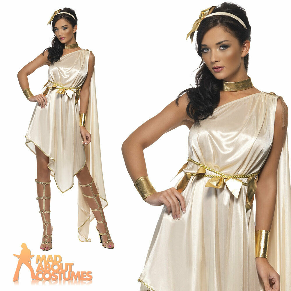 Simple  Costumes For Women Arabic  Ancient Rome Goddess Womens Cosplay Dress