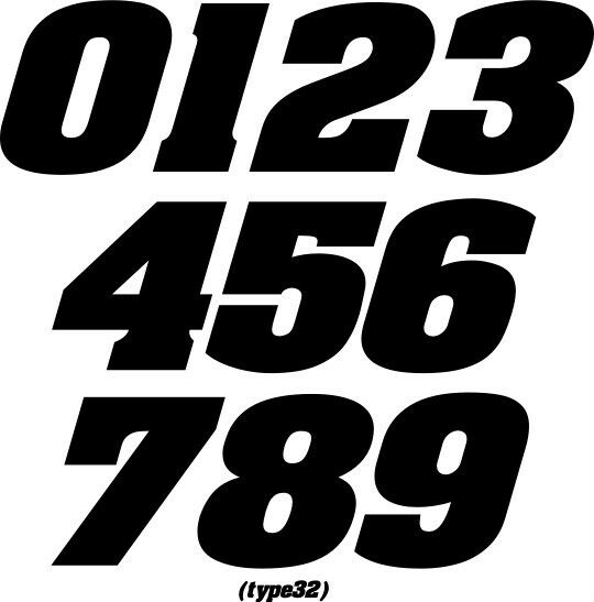 Racing Number Decals >> CUSTOM MX NUMBER PLATE DECALS MOTORCYCLE RACING MOTOCROSS MX ATV BMX SX RM KX YZ | eBay