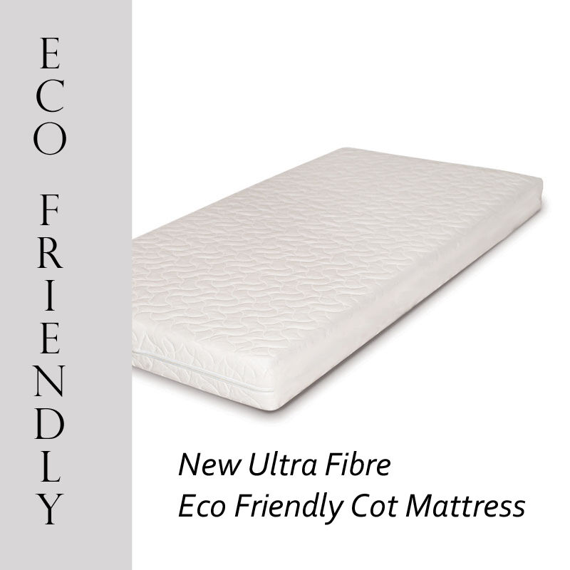 New Ultra Fibre Eco Friendly Baby Toddler Cot Bed