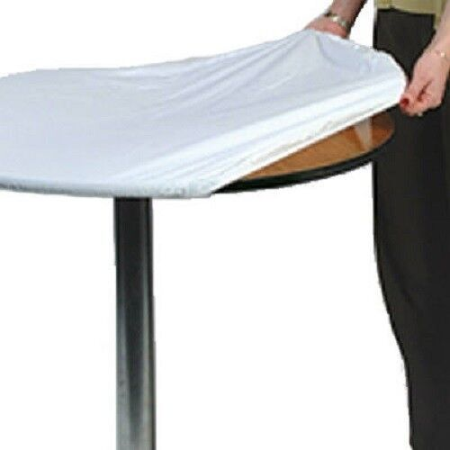 Kwik 2 Pack 60 Quot Round White Tablecover Is A