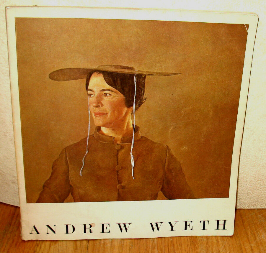 WYETH at KUERNERS 1976 - 1st Edition, Andrew Wyeth Art Book, Table HC/DJ