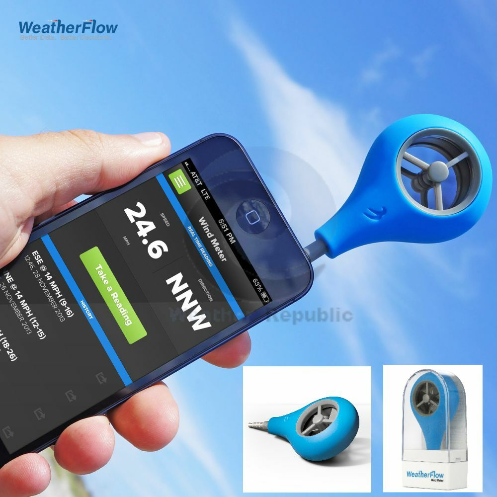 Anemometer For Iphone