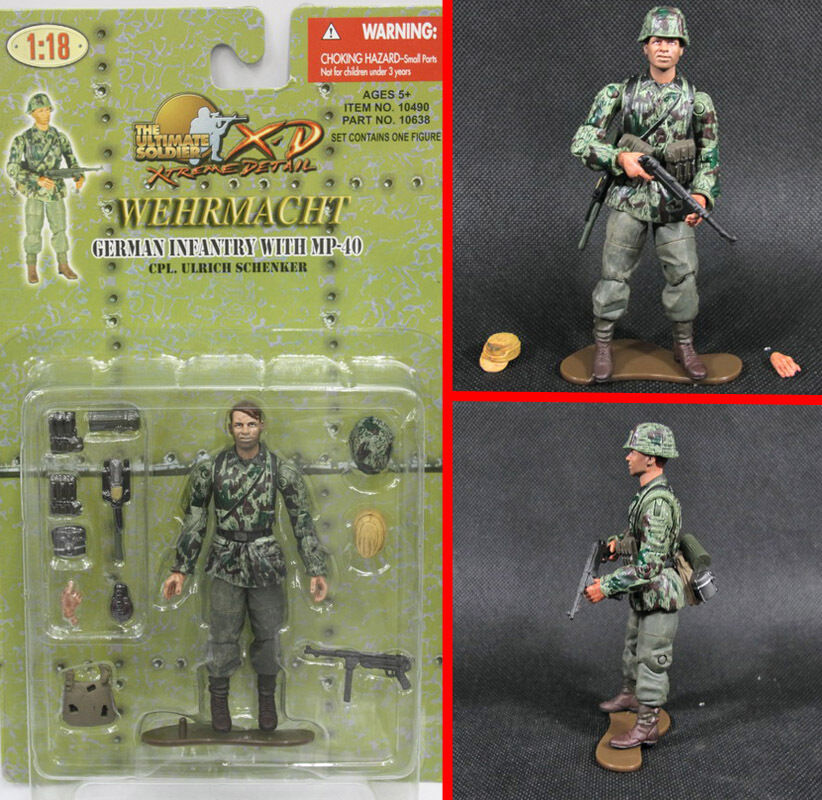 1:18 21st Century Toy German Mountain Division 10638 ...
