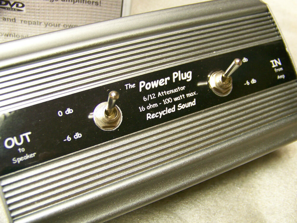 Power plug 6 12 attenuator direct from the designers ebay for Direct from the designers