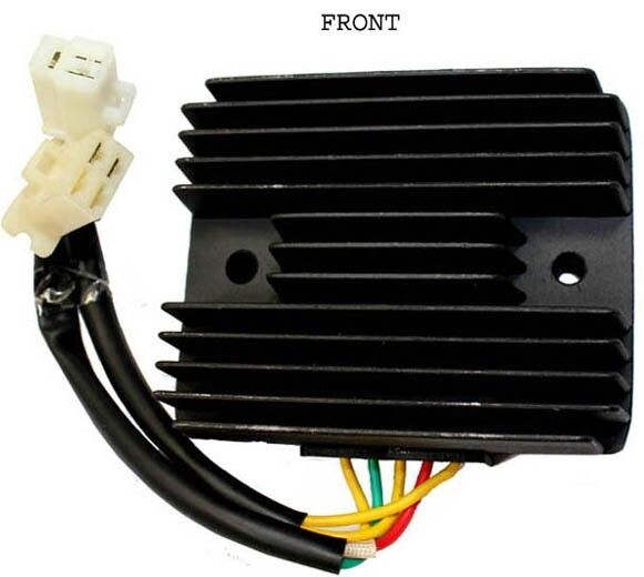 Rectifier 5 Wire Version 2 Plugs For Cf250 250cc Water