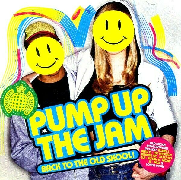 Pump up the jam 2 x cds unmixed tracks rave oldskool 90s for 90s house anthems