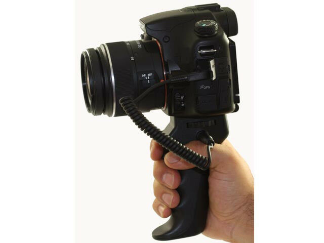 Jjc Handheld Pistol Grip Tripod Remote Control For