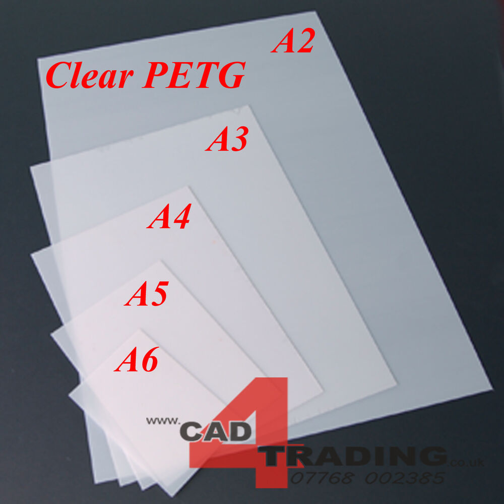 Crystal Clear Petg Vacuum Forming Moulding Plastic Sheet