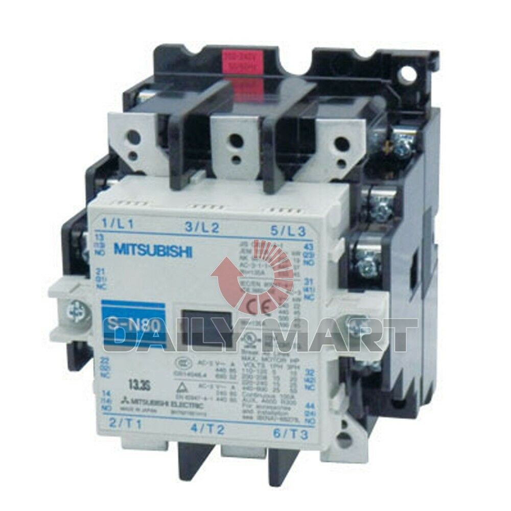 MITSUBISHI Magnetic Contactor S-N80 SN80 200-240VAC New in ...