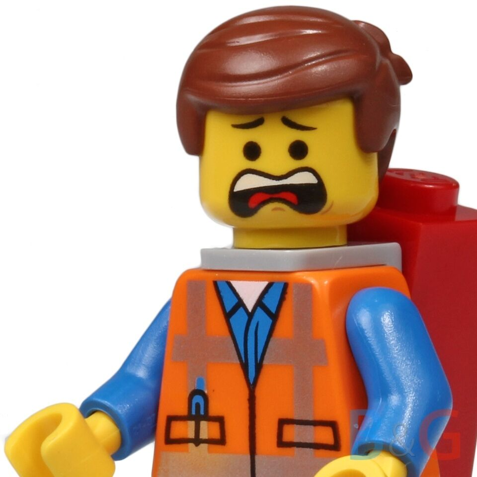 LEGO The LEGO Movie - Emmet Minifigure 70800 70801 70802 ...