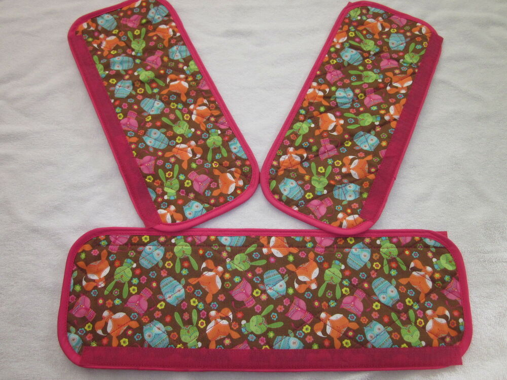 Fabric Book Cover With Handles Pattern ~ Refrigerator handle covers other fabric patterns to