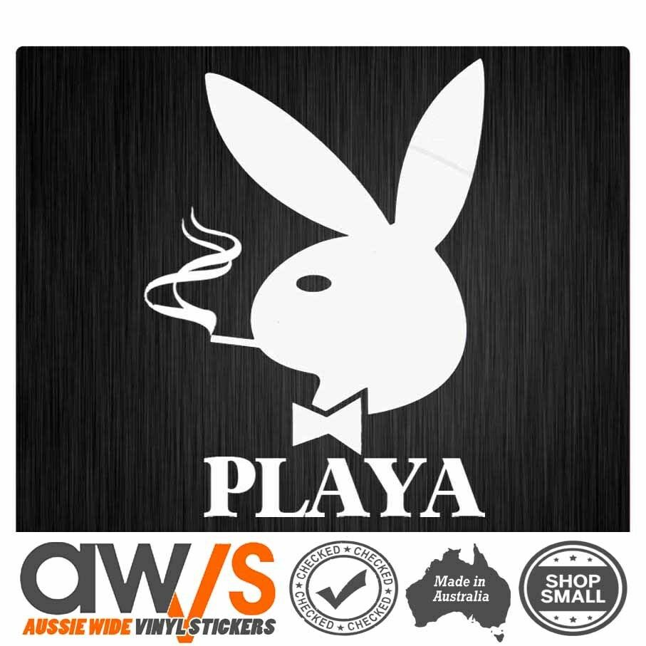 Details about playboy sticker playa decal for swag eadc funny rude dgk diamond xoxo snap