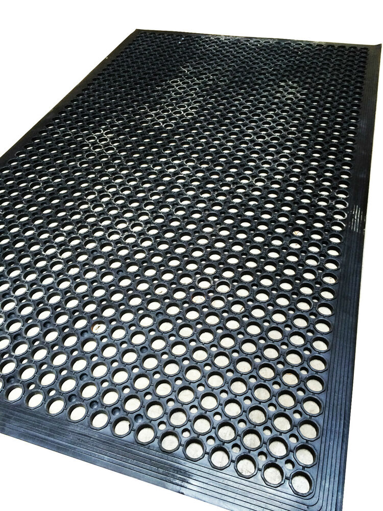 Anti Slip Decking Work Floor Rubber Mat Anti Fatigue