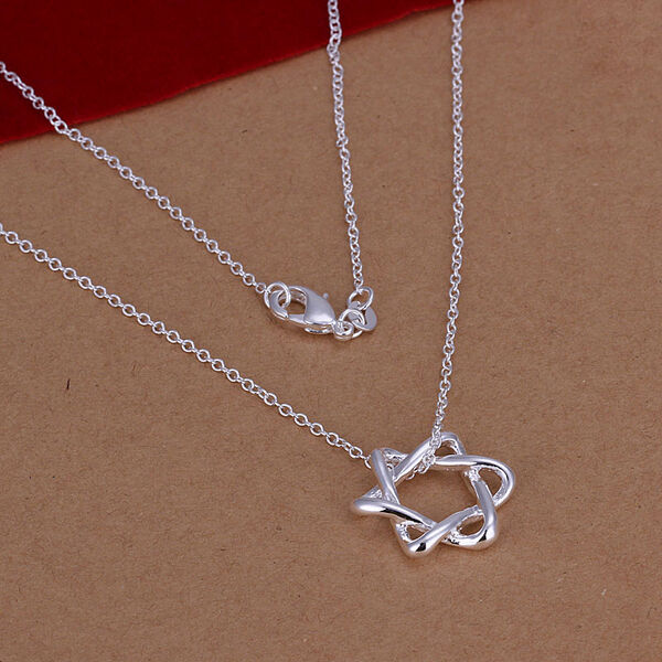 925 sterling silver star of david pendant 16 24 inch for Star of david jewelry wholesale