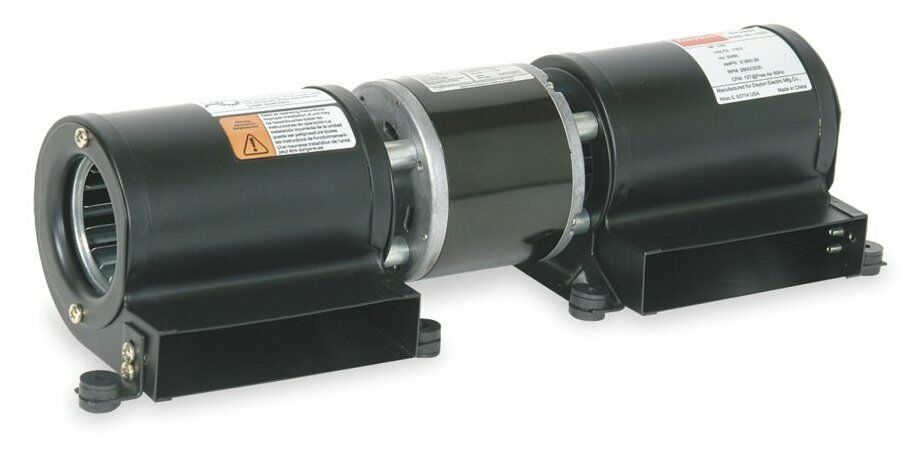 Dayton Electric Blowers : Dayton model frf low profile blower v for fireplace