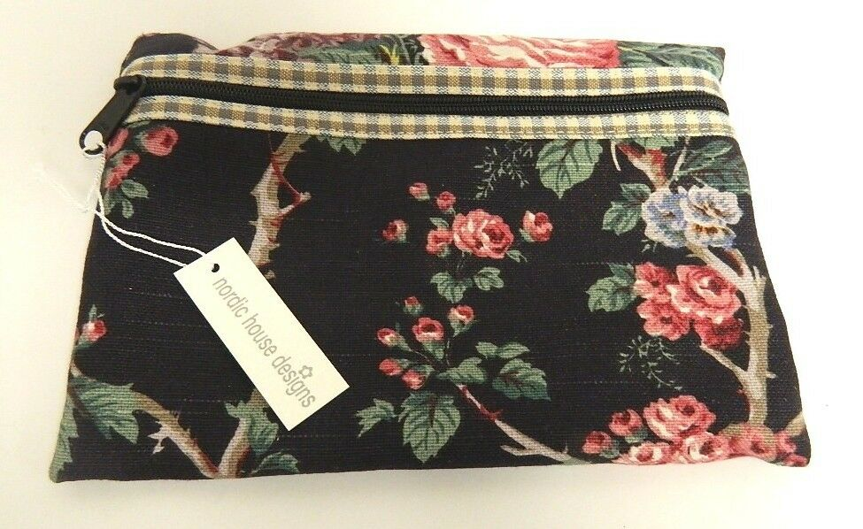 Nordic House Designs Nyc Zip Case Cosmetic Bag Floral