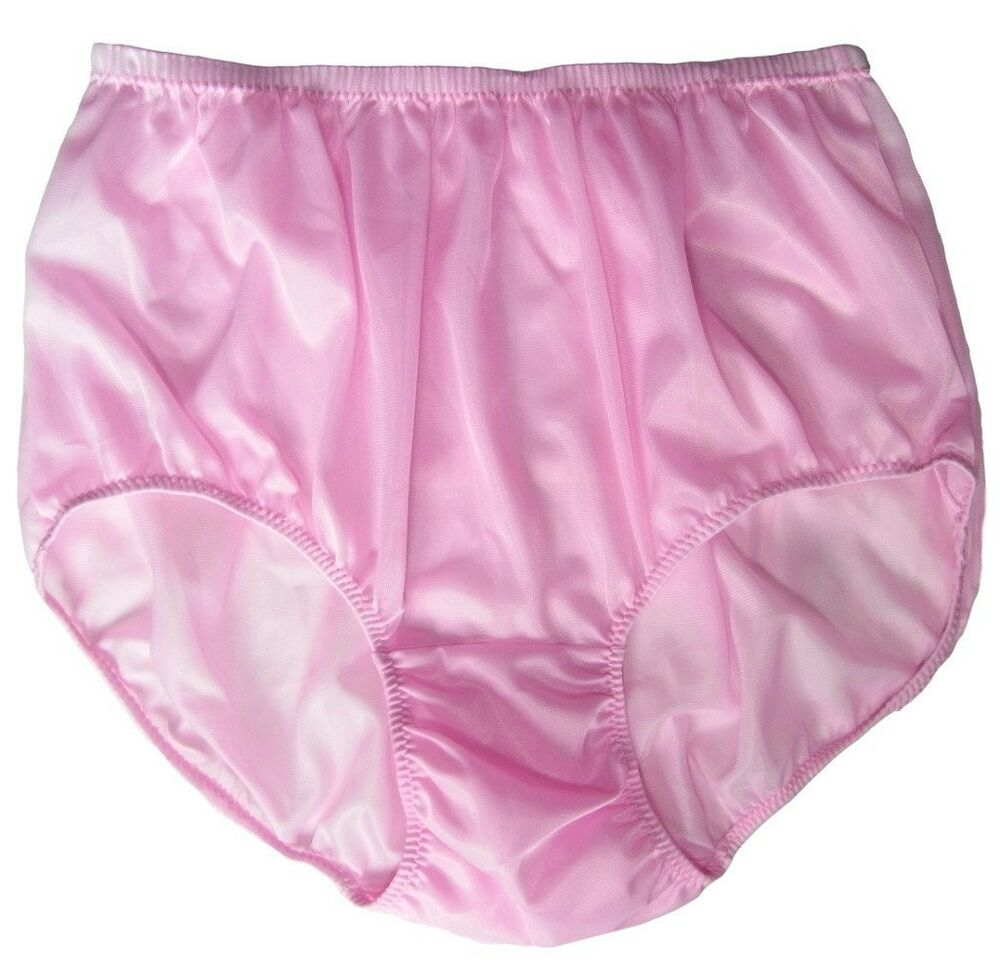 Ladies in satin panties