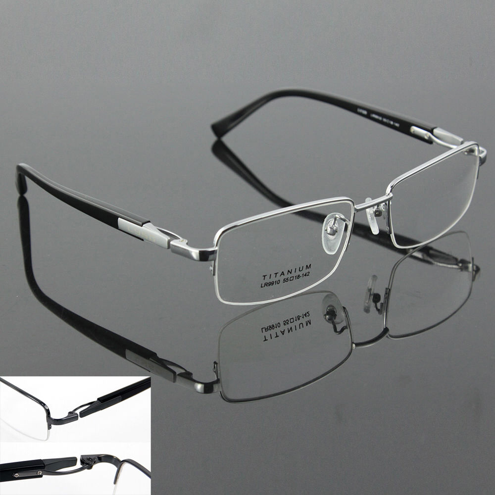 Glasses Frames Luxury : Luxury Pure Titanium Spectacles Men Glasses Optical ...
