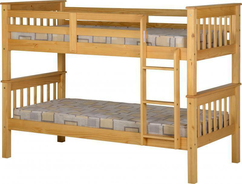 OAK EFFECT BUNK BED BEDROOM FURNITURE FREE NEXT DAY DELIVERY EBay