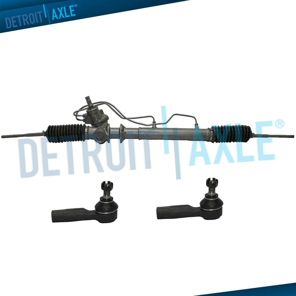 Power Steering Rack And Pinion Assembly 2 Outer Tie Rod