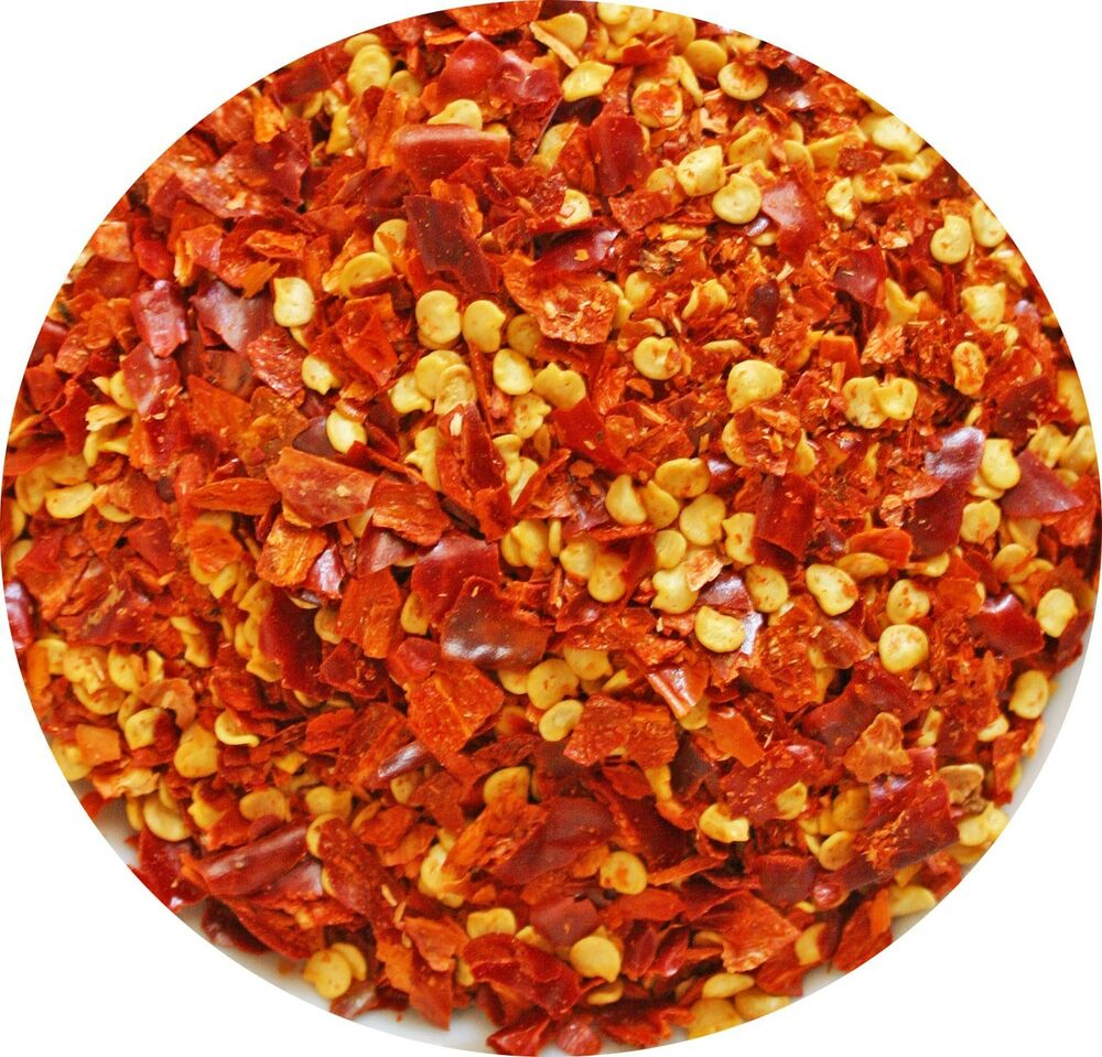 Crushed red pepper chili flakes 1 2 4 8 16oz chili for Chili flakes